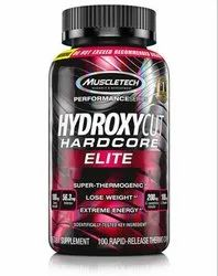 Muscletech Hydroxycut Elite Capsule, Packaging Type: Bottle, Packaging Size: 100