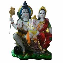 Shiv Parvati God Statue