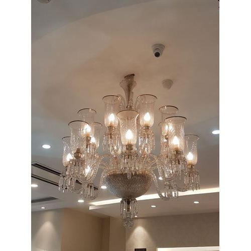 Hanging chandelier brass hanging chandelier wholesaler from hanging chandelier brass hanging chandelier wholesaler from firozabad mozeypictures Image collections