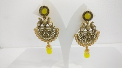 Fancy Stone Earring