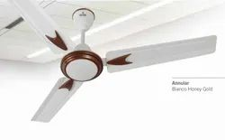Annular Bianco Honey Gold Ceiling Fan