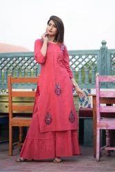 Floor Length Gown Style Kurti