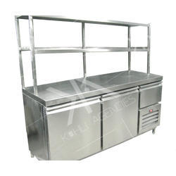 Fantastic Under Counter Freezer With Over Head Shelves Interior Design Ideas Apansoteloinfo