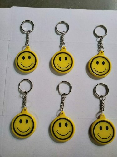 Smiley Keychain Moving