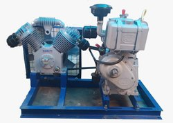 Maruti Borewell Compressor with Diesel Engine