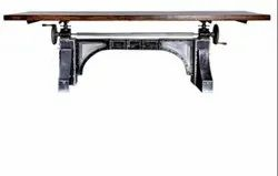 DIF-1412 Cast Iron Adjustable Dining Table