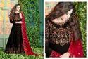 Faux Georgette Embroidered Anarkali Salwar Kameez