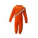 Orange Track Suit