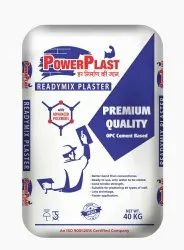 Power Plast Ready Mix Plaster, Packaging Type: Laminated Flexi PP bags, Packaging Size: 40 Kg
