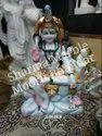 White Marble Shankar Sculpture