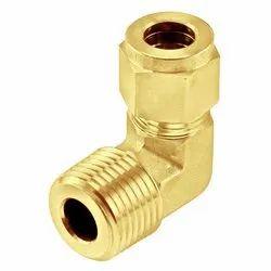 Brass Compression Elbow