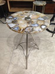 Natural Agate Table