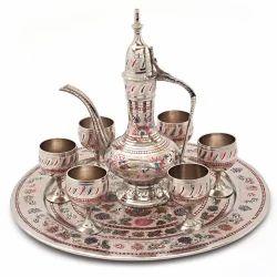 Antique Royal Wine Set Handicraft -155