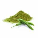 Green Chilli Powders