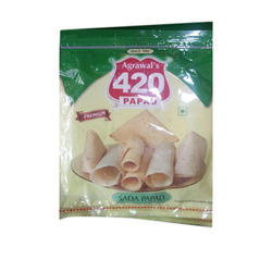 Agrawal 420 Sada Papad, Packaging Type: Packet