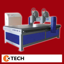 Automatic Double Spindle CNC Machine