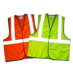 Polyester S To Xl Reflective Safety Jacket, for Construction, for Traffic Control