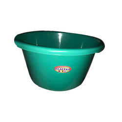 Green Plastic Tub