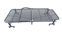 Folding Bed with Mattress - 100 Cm Wide - Beige
