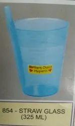 Plastic Straw Glass