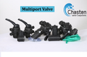 Innox Nylon Manual Multiport Valve