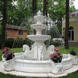 MARBLE Antique Outdoor Fountain