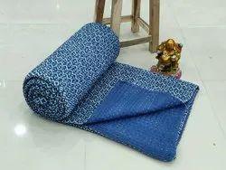 Handmade Kantha Quilts Trow Blankets