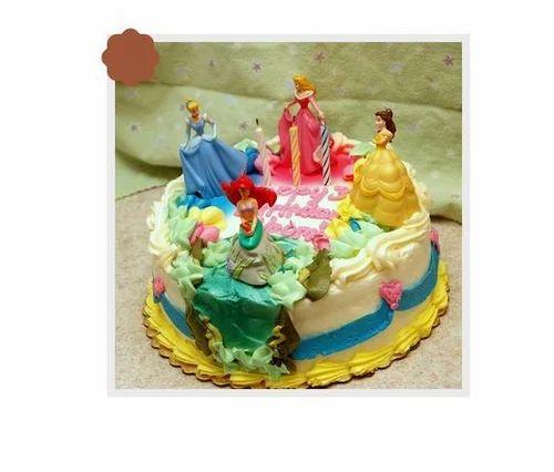 Disney Princess Cake At Rs 3750 Number