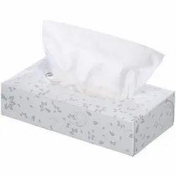 White Facial Tissue Paper, Size: Standard