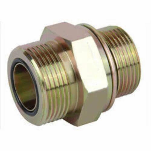Jai Shree Ram Hydraulic Hose Adapter, Size: 1 inch