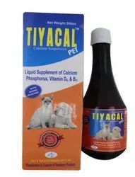 Tiyacal Calcium Supplement For Dogs & Cats