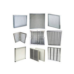 SS 304 /GI (Galvanized Steel) / Aluminum Powder coated / CRC powder coated or Zinc coated Panel Pre Filter