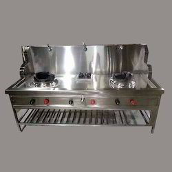 SS Chinese Cooking Gas Stove