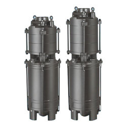 STP Cast Iron Vertical Openwell Submersible Pump, 1 to 2 in, AC Powered