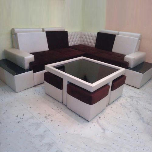 Marvelous Corner Sofa With Center Table And 4 Coups Home Interior And Landscaping Oversignezvosmurscom