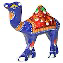Multicolor Meena Camel Statue, For Interior Decor