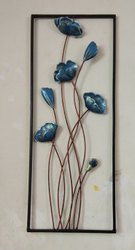 Multicolor metal flower frame