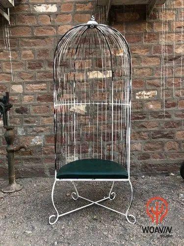 Miraculous Woavin Industrial Indoor Outdoor Modern Outdoor Decorative Garden Relax Cage Chair Recliner Seat Unemploymentrelief Wooden Chair Designs For Living Room Unemploymentrelieforg