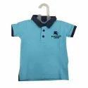 Sky Blue Cotton Baby T Shirt