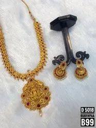 Matte Finish Jewellery Set - D 5018