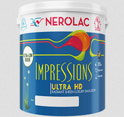 Nerolac Impression Ultra HD Paint, Packaging Type: Bucket