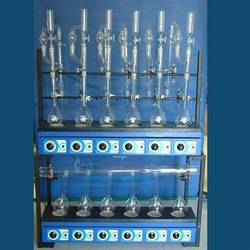 Labappaara Kjeldhal Digestion & Distillation Units Combined