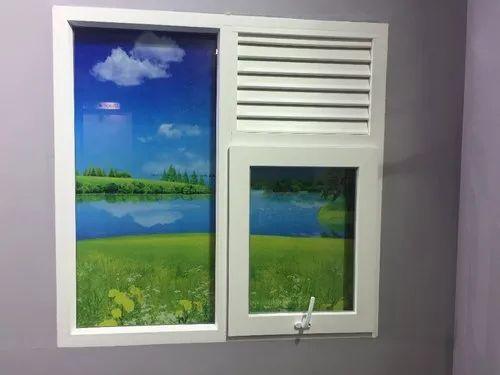 White Combination Windows
