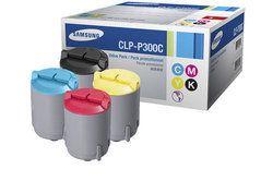 Samsung CLP - P300C / XIP Value Pack 4 Colour Toner Cartridge