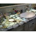 Gemstone Kitchen Counter Tops, Thickness: 10-50mm