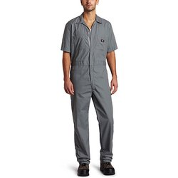 Cotton Available Grey and Red Half Sleeves Industrial Uniforms