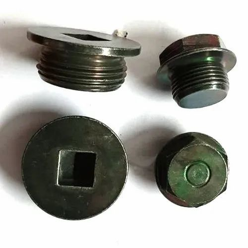 Mild Steel Threaded Oil Drain Plug for Pipe Fitting, Rs 30 /number | ID: 21457363255