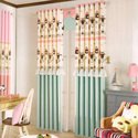 Multicolor Polyester Frill Door Curtain