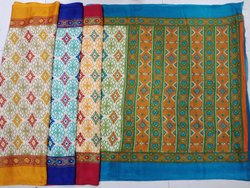 Casual Print Kota Silk Saree