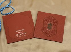Designer Indian Marriage Invitation Card Patterns in Premium Quality